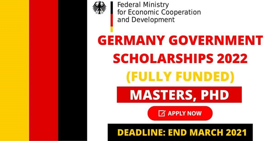 Germany Government Scholarship 2021 | Fully Funded