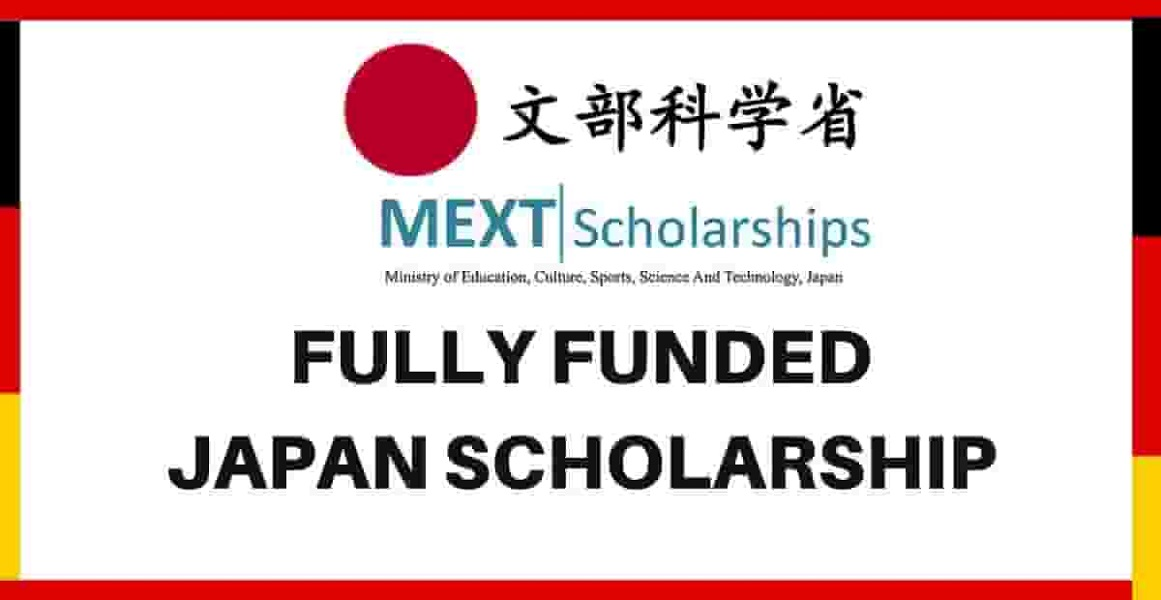MEXT Japanese Government Scholarship 2021 Fully Funded