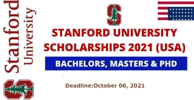 Stanford University Scholarships 2021 in USA (Fully Funded)