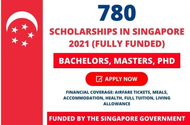 Singapore Government Scholarships 2021