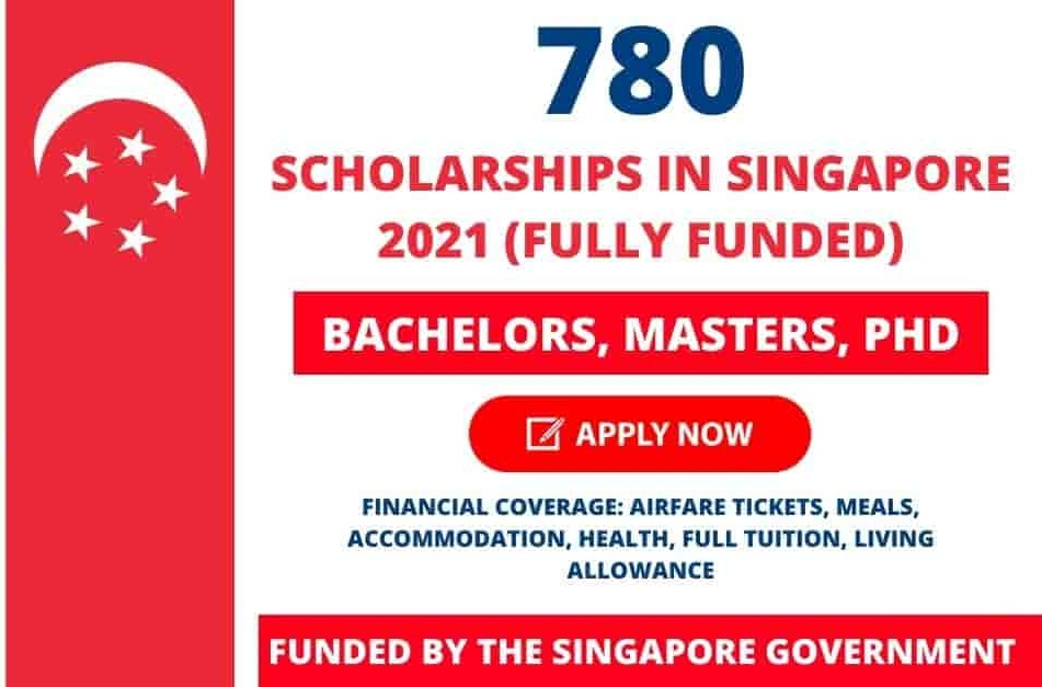 Singapore Government Scholarships 2021-22 in Singapore (Fully Funded)